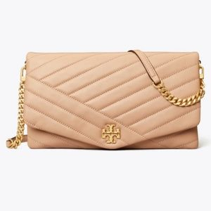 *NEW with tags* Tory Burch Kira Chevron Clutch